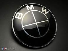 bmw emblem 82mm black