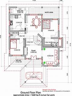 kerala house floor plans traditional kerala house plan and elevation 2165 sq ft