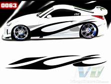 8 Automotive Graphic Patterns Images  Car Decals Graphics