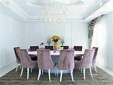 salle a manger contemporaine velvet dining chairs in 20 sophisticated dining rooms
