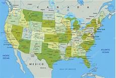 Arkansas Mapa Fisico Mapa De Estados Unidos De