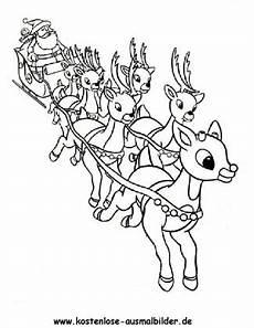 Weihnachts Ausmalbilder Pdf Weihnachtsschlitten Weihnachten Ausmalen Malvorlagen