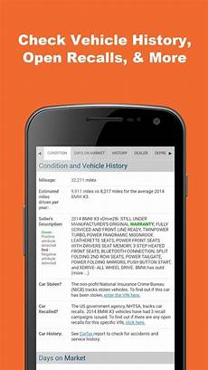 Car Recall Check By Vin by Free Vin Check For Used Cars Android Apps On Play