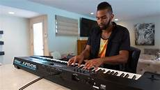 Roland Juno Ds Synthesizer Introduced