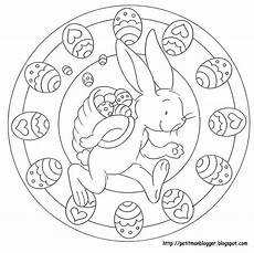 mandales pasqua easter coloring pages easter