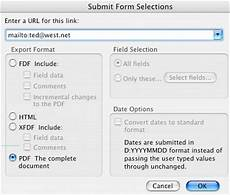 submitting forms from pdf packages with acrobat 8