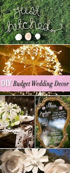 diy budget wedding decor projects 25th wedding
