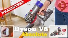 dyson v8 test dyson v8 absolute im test was leistet der luxus