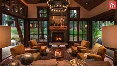 rustic living room decor ideas inspired by cozy mountain cabins youtube