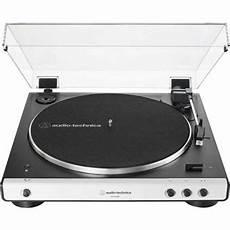 Platine Vinyle Audio Technica At Lp60xbtwh Bluetooth Blanc