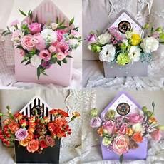 Flower Box new fashion envelope box flower packaging floral bouquet