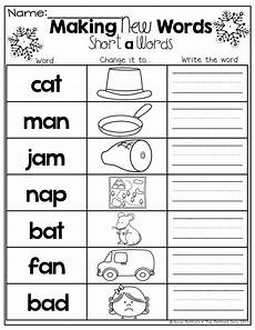 create worksheets free 19299 winter math and literacy packet kindergarten with images word work kindergarten