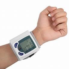 do automatic blood pressure machines read high wrist blood pressure cuff wrist monitor automatic di gital sphygmomanometer bp machine