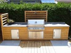 meuble cuisine exterieur cuisine ext 233 rieure en bois meubles en bois trait 233