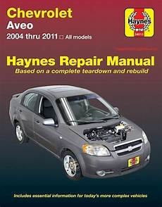 car repair manuals online free 2011 chevrolet traverse head up display chevrolet aveo repair manual 2004 2011 ebay