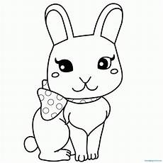 coloring pages of baby bunnies coloring pages for