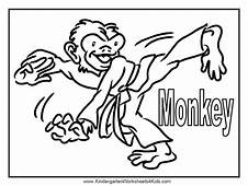 Monkey Coloring Pages  Page 38 Free