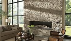 natursteinwand im wohnzimmer indir