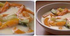 recette apero dinatoire 738 recette potage de l 233 gumes au lait de coco 750g