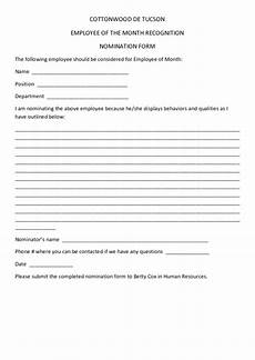 employee of the month nomination form driverlayer search engine