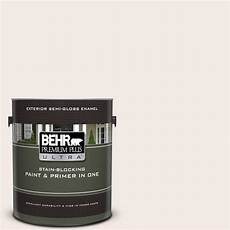 behr premium plus ultra 1 gal ppu5 09 bleached linen gloss enamel exterior paint and