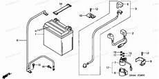 honda atv 2002 oem parts diagram for battery partzilla com