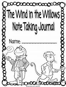 the wind in the willows ckla note taking journal by chalkboards and coffee