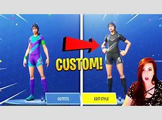 How to CHANGE STYLE of Soccer Skins in Fortnite! CUSTOMIZE