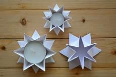 Kerzenhalter In Sternform Falten 1 Fadenspiel Und