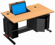 mobilier de bureau informatique table informatique ecran escamotable mobilier goz