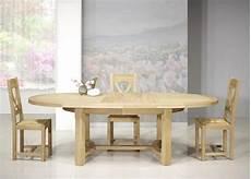 table de ferme ovale tom en ch 234 ne massif de style