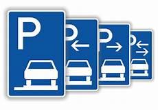 Verkehrsschilder Parkplatzschilder Parken Ganz Auf