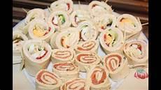 Wraplollies Fingerfood Buffet Geburtstag