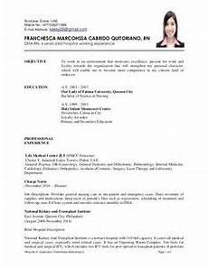 exle of resume jollibee resume format resume