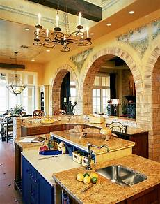 tuscan brick archs ceiling beams wrouth iron