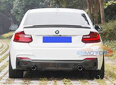 real carbon fiber rear diffuser for bmw f22 2series m