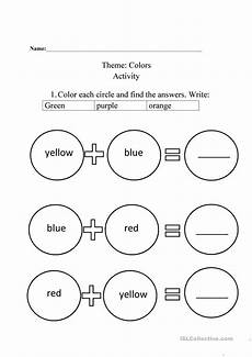 colors worksheets isl collective 12728 mixing colors activity esl worksheets for distance learning and physical classrooms
