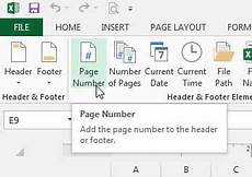 how to insert a page number in excel 2013 solve your tech