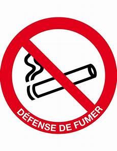 Panneau Interdiction De Fumer Signalisation De Plaques