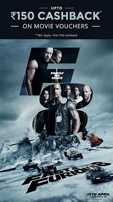 fast furious 8 affiche book fast and furious 8 tickets on paytm get