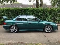 Subaru Impreza Gt Turbo 2000 Green In Leicester