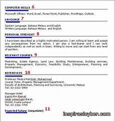 koleksi contoh resume lengkap terbaik dan terkini contoh
