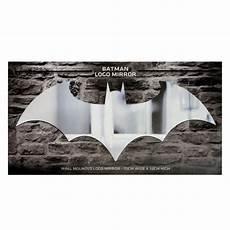 official batman arkham knight bat symbol logo wall mirror boxed dc gift for sale online
