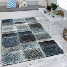teppich grau blau moderner karo teppich vintage blau teppich de