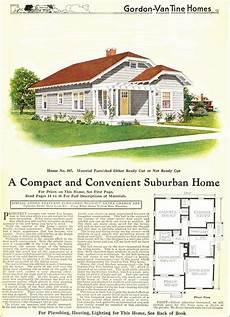 gordon van tine house plans 1918 gordon van tine model no 587 small clipped gable