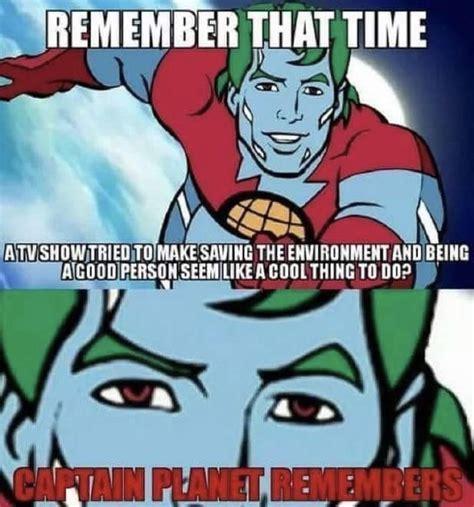 Captain Planet Meme