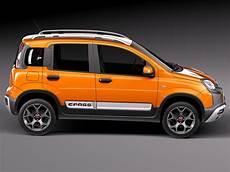 Fiat Panda Cross Country 2014 3d Model Max Obj 3ds Fbx C4d