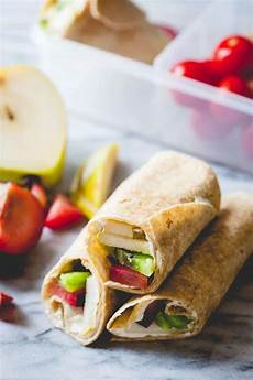 easy fruit and cheese lunch wraps healthy seasonal