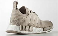 adidas nmd r1 primeknit beige restock sneaker bar