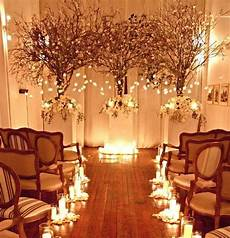 small indoor wedding decoration ideas ceremony love that it looks like it is in someone s living room notice chairs winter